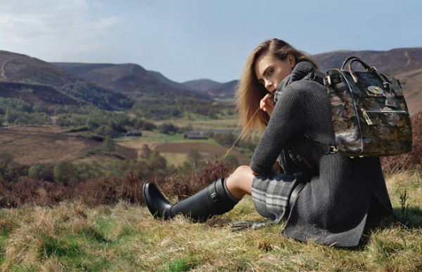 Cara Delevingne returns for Mulberry autumn/winter 2014 ad campaign