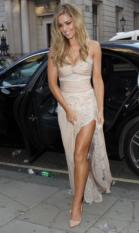 Cheryl Cole wows in Zuhair Murad Couture for Storm Flower fragrance launch