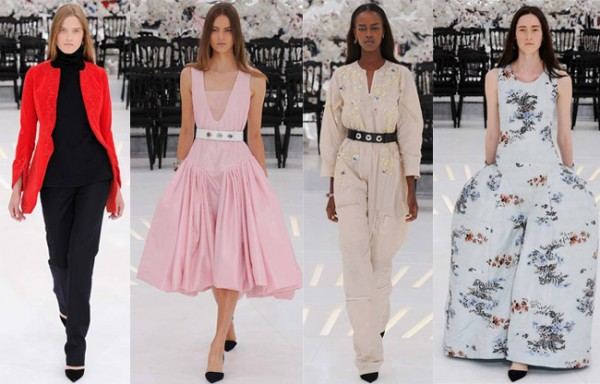 Couture Fashion Week AW14 highlights from Christian Dior and Giambattista Valli