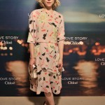 Clémence Poésy rocks romantic Chloe for 'Love Story' fragrance launch