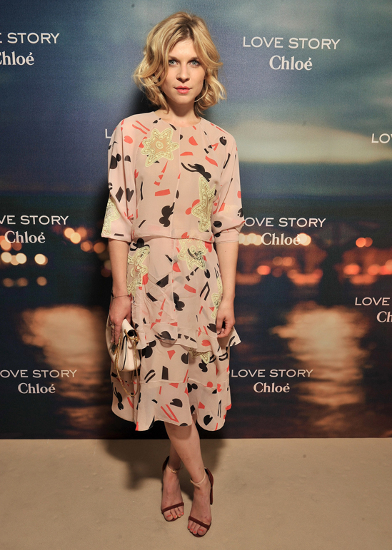 clemence-poesy-chloe-love-story-fragrance-launch-paris