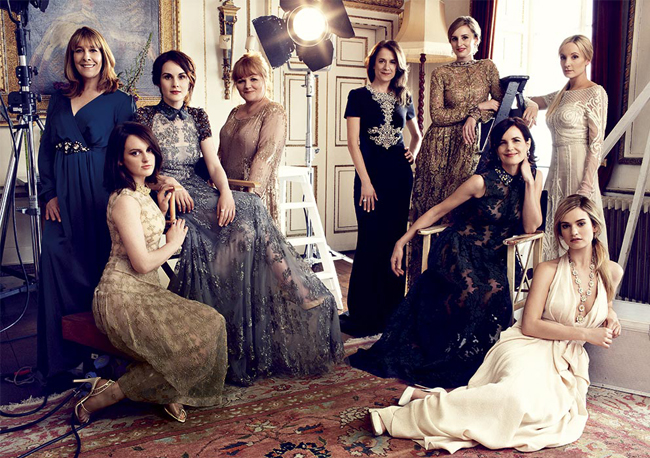 downton-abbey-ladies-harpers-bazaar-august