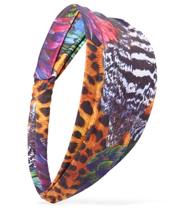 Lunchtime Buy: Forever 21 peacock printed headwrap