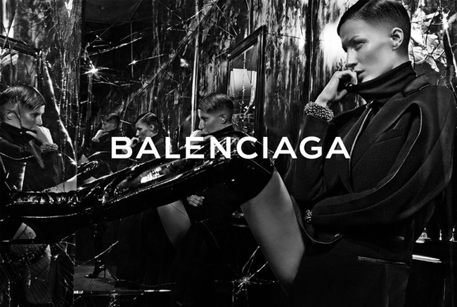 Gisele rocks a buzz cut for Balenciaga autumn/winter 2014 ads