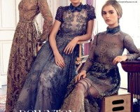The Downton Abbey ladies cover Harper's Bazaar UK's August issue