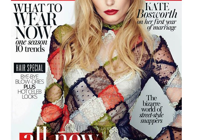 Kate Bosworth lands the InStyle UK September issue