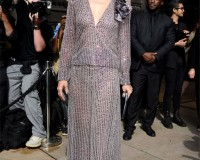 Kate Hudson dazzles in embellished Armani Privé jumpsuit for Couture Fashion Week