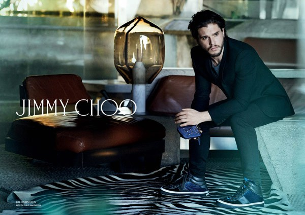 kit harington jimmy choo ad