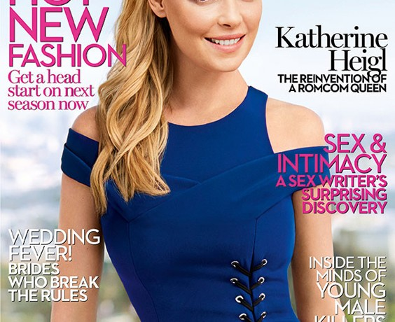 Katherine Heigl is Marie Claire UK's August cover star!