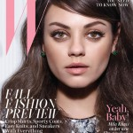Mila Kunis talks pregnancy, paps, and Ashton Kutcher in W's latest issue