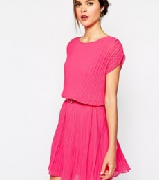 Oasis Pleated Tunic Midi Dress