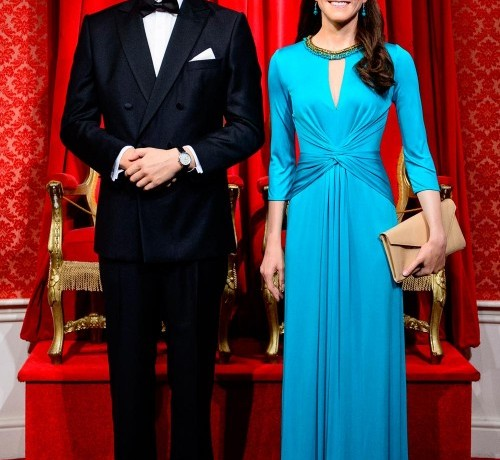 Kate Middleton once again wears Issa for new Madame Tussauds waxwork