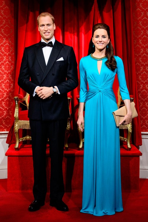 prince william and kate middleton madame tussauds waxworks revamp2014