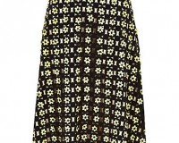 Lunchtime Buy: River Island black 3D flower midi skirt
