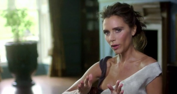Behind the scenes action from Victoria Beckham's British Vogue August cover shoot