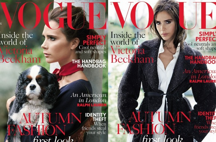 Which Victoria Beckham Vogue UK cover do you prefer?