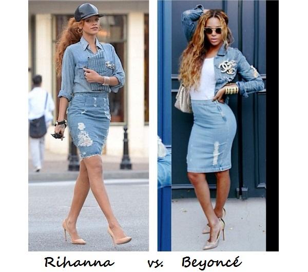 Style Jury: Rihanna vs. Beyonce
