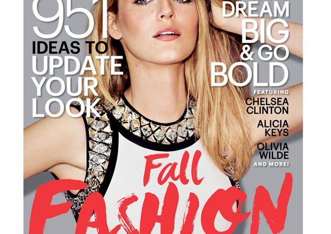 Blake Lively helps Marie Claire US celebrate its 20th birthday with stunning September issue cover