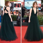 Emma Stone is flawless in Valentino Couture during Venice Film Festival