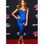 Jessica Alba is electric in Zac Posen for 'Sin City: A Dame to Kill For' premiere