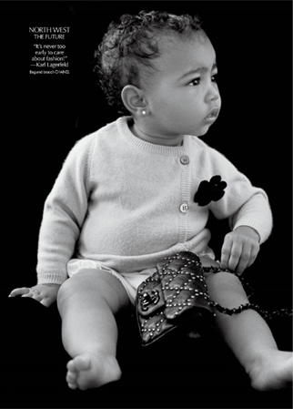 north-west-chanel-modelling-debut