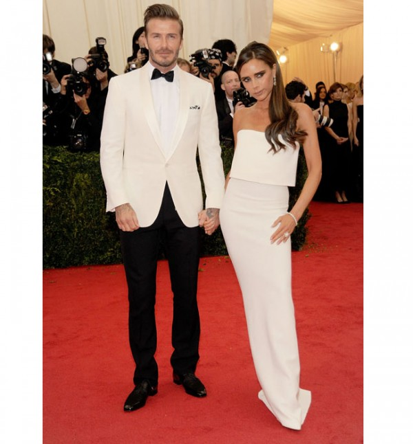"David and Victoria Beckham crowned ""celeb couple with the best hair"""