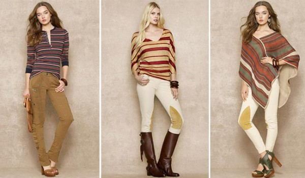 Ralph Lauren Blue Label goes neutral for summer
