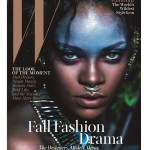 Rihanna goes tribal for W September issue