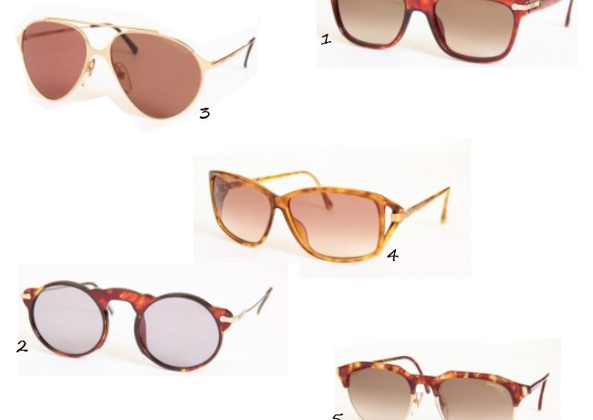 Five of our favourite vintage sunglasses!