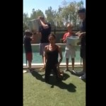 She did it! Victoria Beckham takes the ALS Ice Bucket challenge like pro