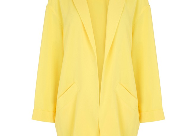 Lunchtime Buy: Warehouse yellow duster coat