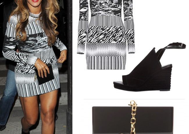 Get Beyonce's Balenciaga and Charlotte Olympia Paris look