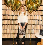 Cara Delevingne wears head-to-toe Mulberry for her Cara Delevingne Collection party in New York