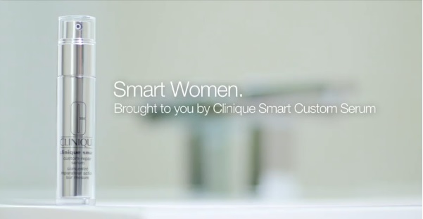 """Smart Women""… with Clinique and its Smart Custom Serum!"