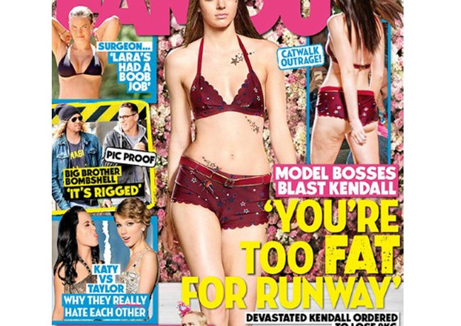 Australian magazine fat shames Kendall Jenner, Photoshops cellulite on her legs