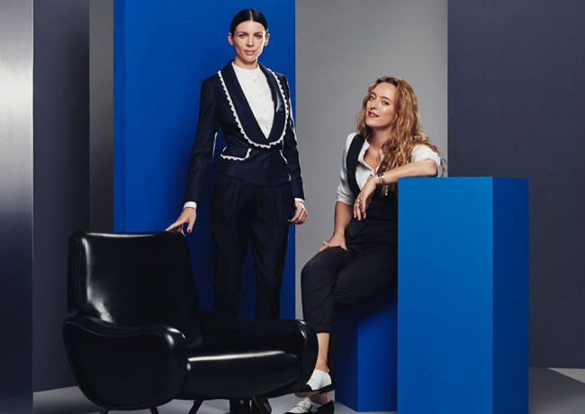 Alice Temperley's capsule collection for The Outnet – as modelled by Liberty Ross