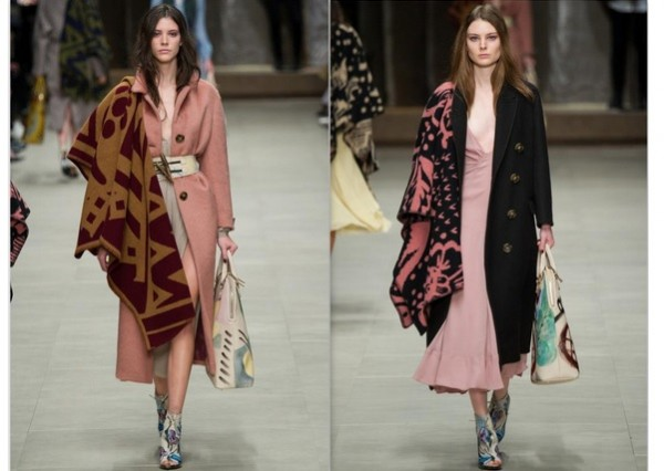 Burberry Prorsum, Autumn 2014, Image Courtesy of wayfarerstyle.com