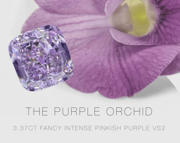 Leibish & Co. unveil $4 million Purple Orchid diamond