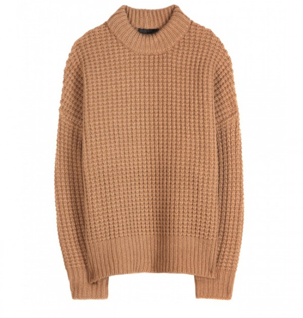 Lunchtime Buy: The Row Alina camel hair and cashmere sweater