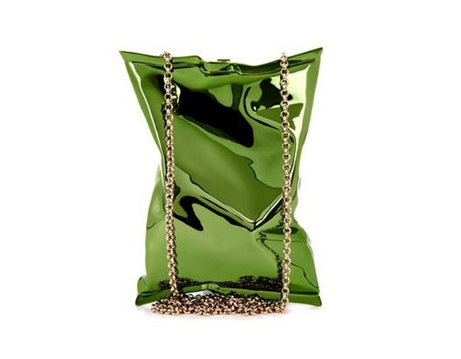 anya-hindmarch-metallic-green-crisp-packet-clutch-aw14