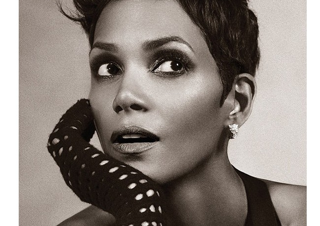 Halle Berry does lingerie now!