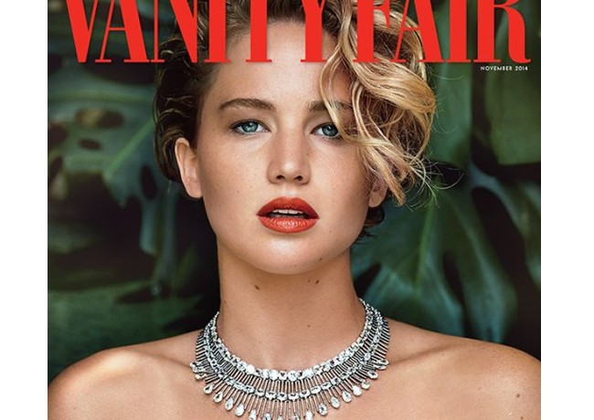 Jennifer Lawrence covers Vanity Fair November, speaks openly about THAT photo hacking scandal