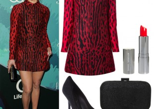Get Jennifer Lopez's red Valentino look