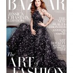Jessica Chastain dazzles in Armani Privé for Harper's Bazaar UK November