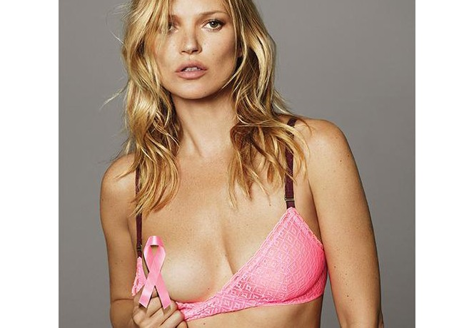 Kate Moss and Stella McCartney team up for Breast Cancer Awareness