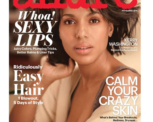 Kerry Washington dares to bare on Allure's November cover!