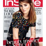 Leighton Meester covers InStyle UK November, talks about THAT Robin Thicke collaboration