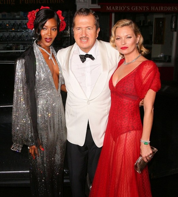 Mario Testino celebrates 60th birthday!
