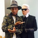Karl Lagerfeld taps Pharrell Williams for Chanel mini movie!