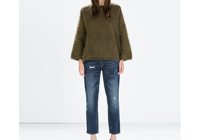 Lunchtime Buy: Zara relaxed cigarette jeans